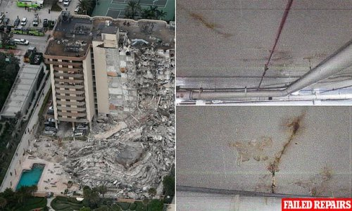 Collapsed Miami condo pool deck raised concerns TWENTY FIVE YEARS ago