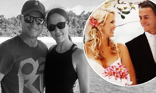 Lleyton Hewitt shares a sweet tribute to Bec on their anniversary
