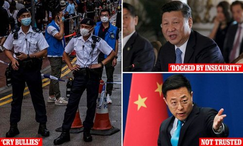 Chinese diplomats outraged at Australia after Xi labelled 'insecure'