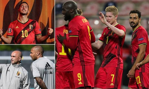 It's now or never for Belgium's Golden Generation at Euro 2020