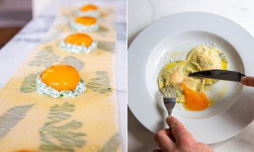 Foodie's recipe for egg yolk ravioli wows millions on TikTok