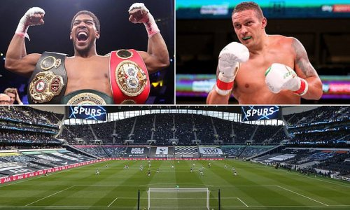 Joshua and Usyk 'putting finishing touches to September 25 clash'