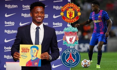 Barca star Fati 'turned down moves to Man Utd, Liverpool and PSG'