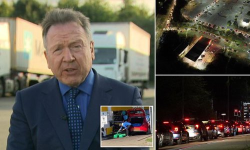 HGV boss accused of triggering petrol pump crisis