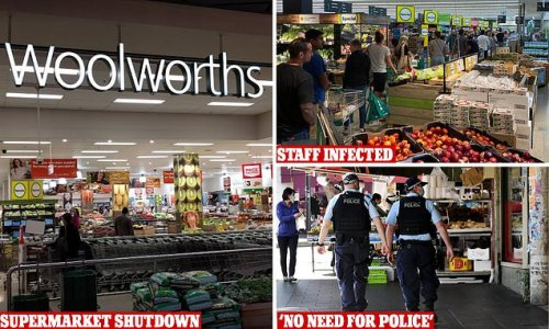 Woolies in Sydney's west closed for deep clean as staff test positive
