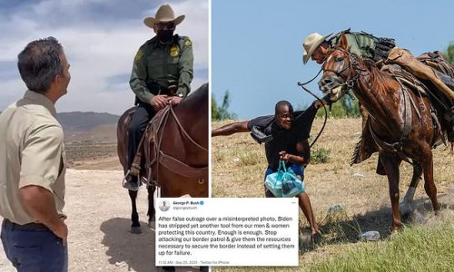 George P. Bush: Agents used reins to control horses NOT whip migrants