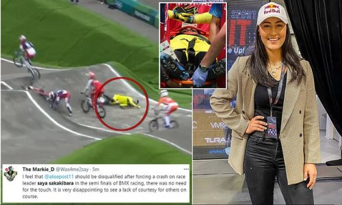 Chilling scenes as Aussie BMX favourite stretchered off