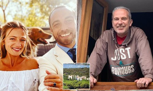 James Middleton's father-in-law died months before couple's wedding