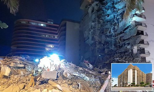 Eleven-story Miami Beach apartment building collapses sparking search