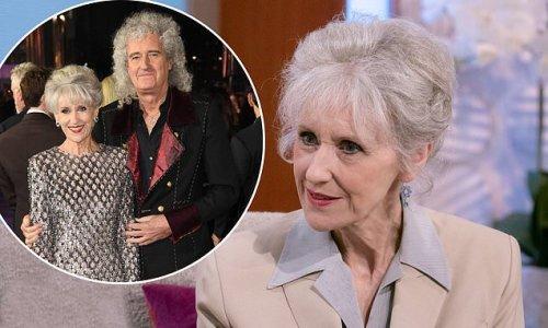 Anita Dobson 'went into shock' during Brian May's health battles
