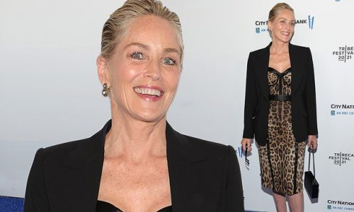 Sharon Stone attends Untitled: Dave Chappelle doc premiere at Tribeca