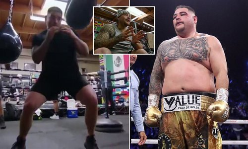 Andy Ruiz Jr shows off INCREDIBLE body transformation ahead of return