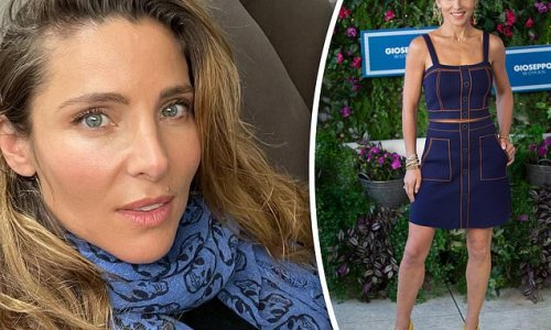 Elsa Pataky shows off her flawless visage in a flattering selfie