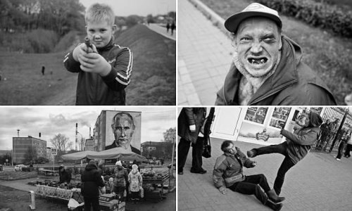 Gritty life on the streets of Russia laid bare in confronting images