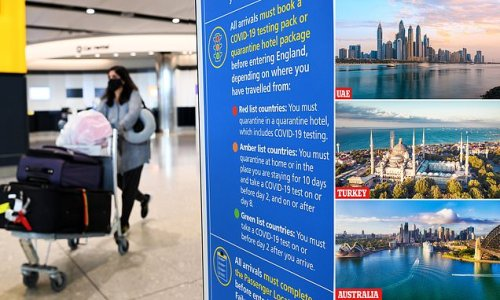 Ministers to allow travel through red list airports without quarantine