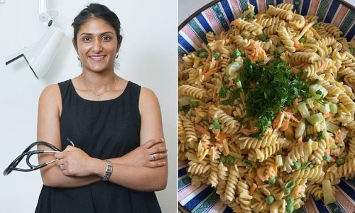 Doctor reveals 'secretly healthy' pasta salad recipe she swears by
