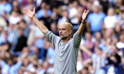 City fans' songs about empty Etihad seats and Pep show Mancunian wit