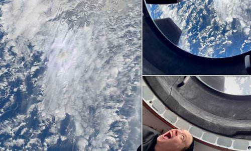 SpaceX shares moment Inspiration4 crew saw Earth for first time