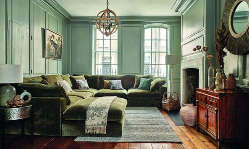 Autumn interiors trends: Warm paint and Scandi sheepskin are in