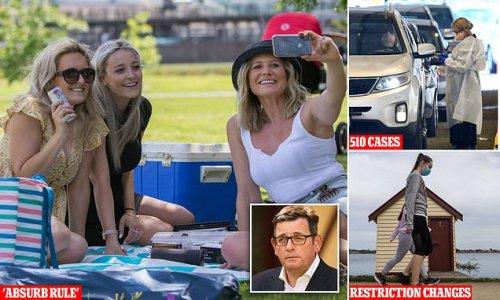 Furious Melburnians blast Dan Andrews over 'absurd' picnic rule