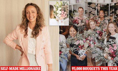 Fashion designer turns redundancy into $14million flower empire