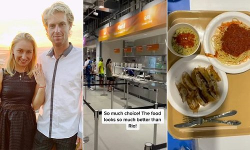 Why tennis star was mocked for his food choice at the Tokyo Olympics