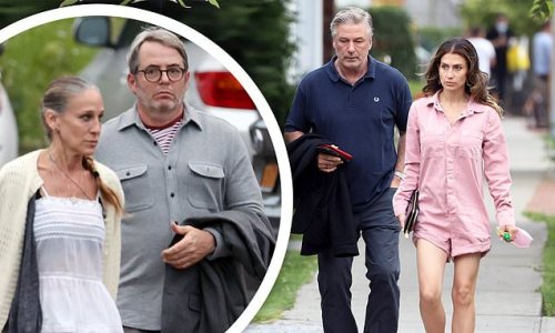 Sarah Jessica Parker and husband Matthew Broderick go on a double date
