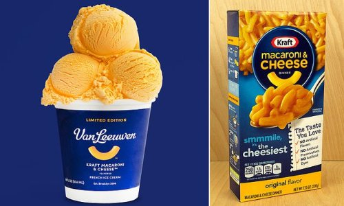 Kraft Macaroni and Cheese ice cream sells out, breaks the internet