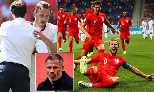 Kane should have been SUBBED earlier against Croatia, says Carragher
