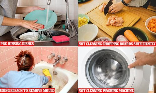 Revealed: The serious cleaning mistakes you're making at home
