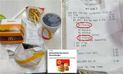 Diner shares $5 McDonald's deal - but order leaves some 'horrified'