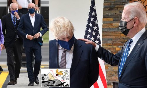 RICHARD LITTLEJOHN: Biden must tell EU to stop playing silly sausages