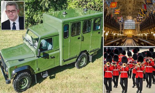 'Just stick me in the back of a Land Rover and drive me to Windsor'