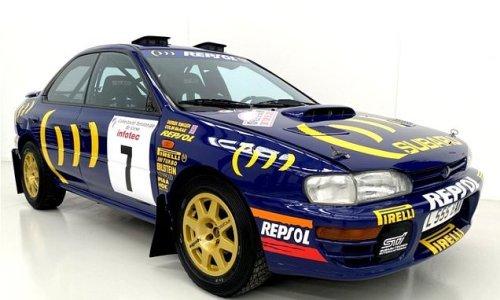 Rare world rally championship Subaru found in a barn