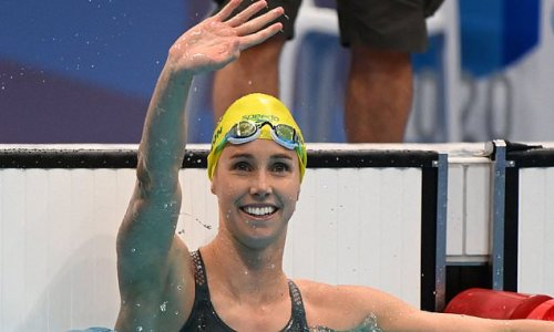 Emma McKeon wins her third gold medal with an Olympic record