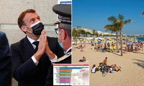 Tourism chiefs accuse Macron of 'playing politics' with UK visitors
