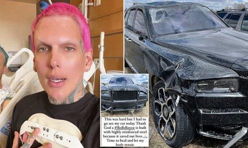 YouTube sensation Jeffree Star gives update on severe car crash