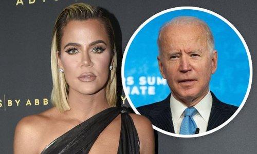 Khloe Kardashian commends President Joe Biden on her Instagram Story