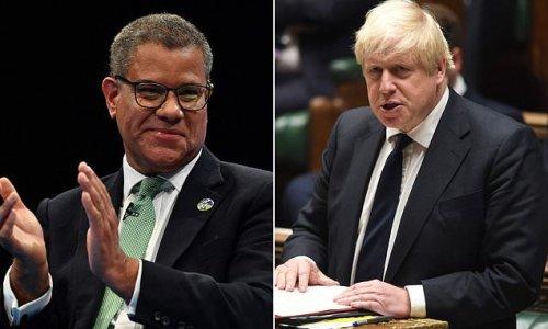 COP26 chief Alok Sharma 'is raging' at Boris Johnson talking up summit