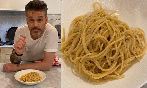 Celebrity chef Jock Zonfrillo shares his five-ingredient pasta recipe
