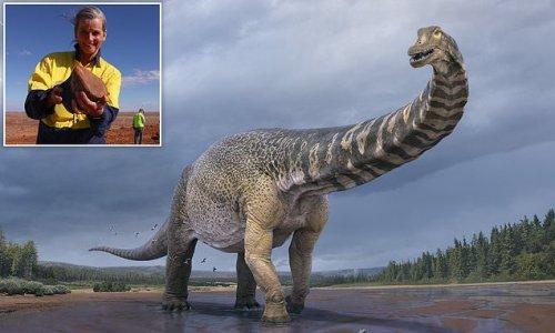'World's biggest dinosaur' found in a remote Australian town