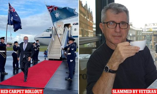 Veteran soldier slams PM for walking a red carpet at an army base