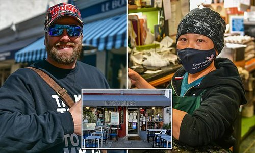 QAnon promoter 'stiffed diner with $10k bill' for soldiers' meals
