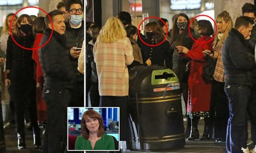 Sky News bosses 'don't know what to do' about Kay Burley after party