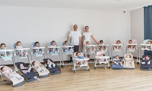 Woman, 24, welcomed TWENTY ONE surrogate babies in just over a year