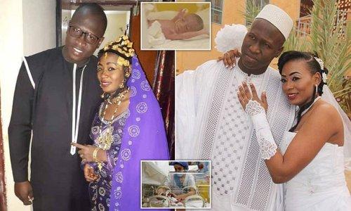 Proud husband of Malian mother who gave birth to NINE children