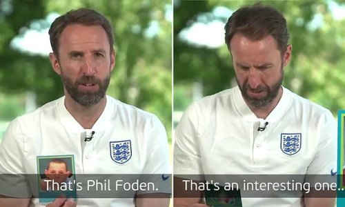 Southgate pokes fun at Foden as he guesses England players as babies