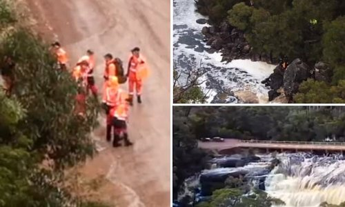 A heartbreaking end to search for boy, 8, after he fell out of a kayak
