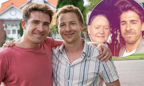 Angus McLaren says co-star Hugh Sheridan 'is an inspiration'