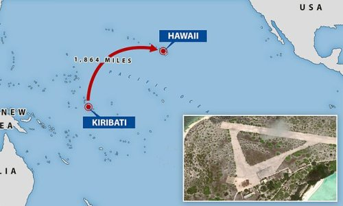 China aims to bring back strategic airfield in the Pacific
